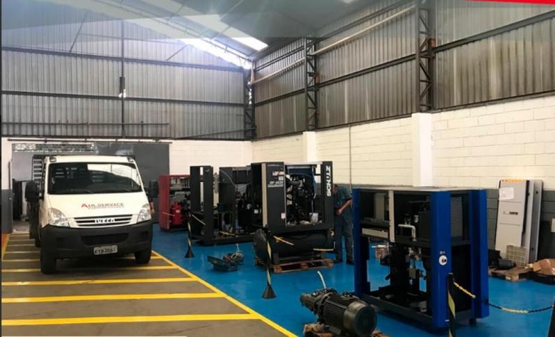 Alugar Compressor Parafuso Refrigeração Andradas - Compressor Rotativo de Parafuso