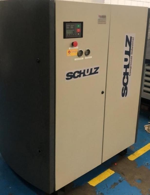 Alugar Compressor Parafuso Schulz Leme - Compressor de Parafuso Atlas Copco