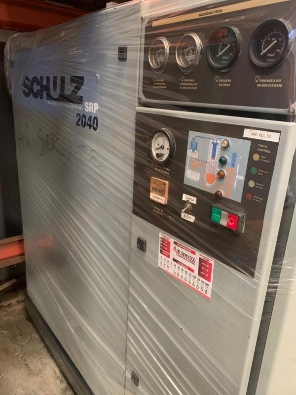 Aluguel de Compressor Industrial Schulz Porto Feliz - Aluguel Compressor
