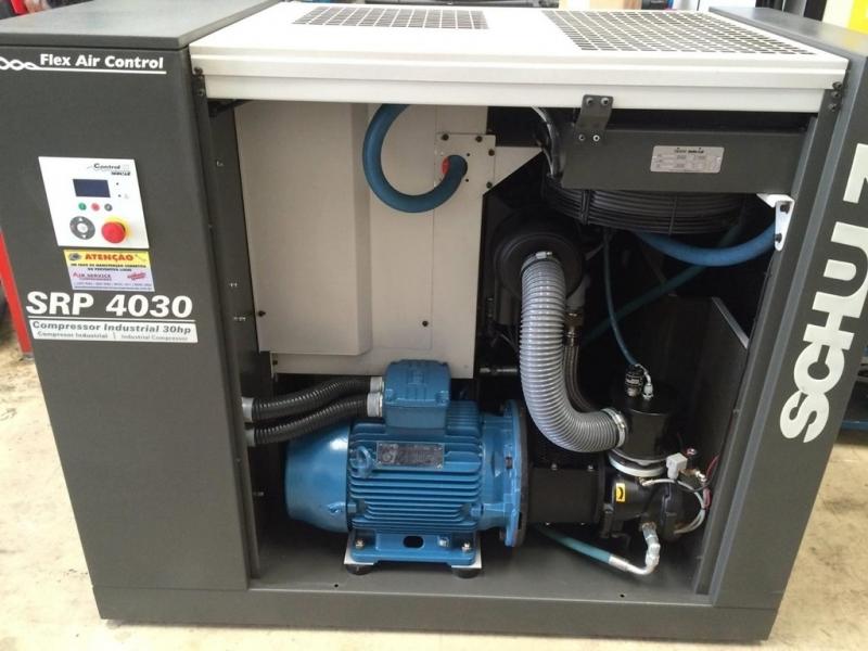 Compressor a Parafuso Valinhos - Compressor de Parafuso Duplo