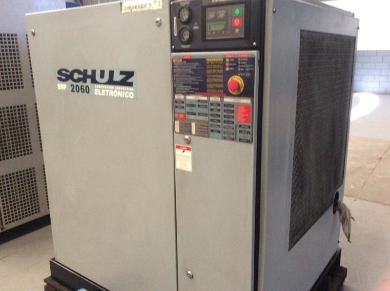 Compressor de Ar de Parafuso Schulz Conchas - Compressor de Ar Tipo Parafuso