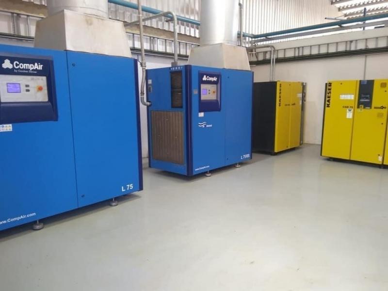 Compressor de Ar Industrial Melhor Preço Cajamar - Compressor de Refrigeração Industrial