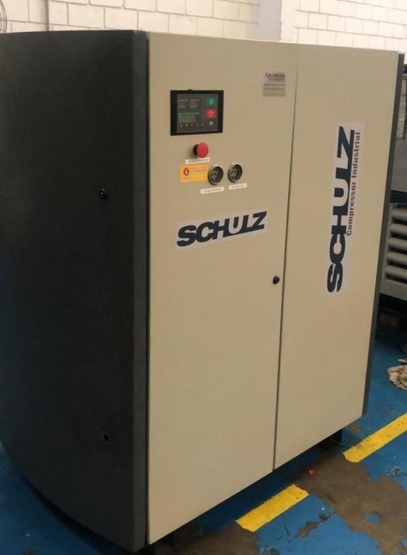 Compressor de Ar Parafuso Schulz Preço Jaguariúna - Compressor Parafuso Refrigeração