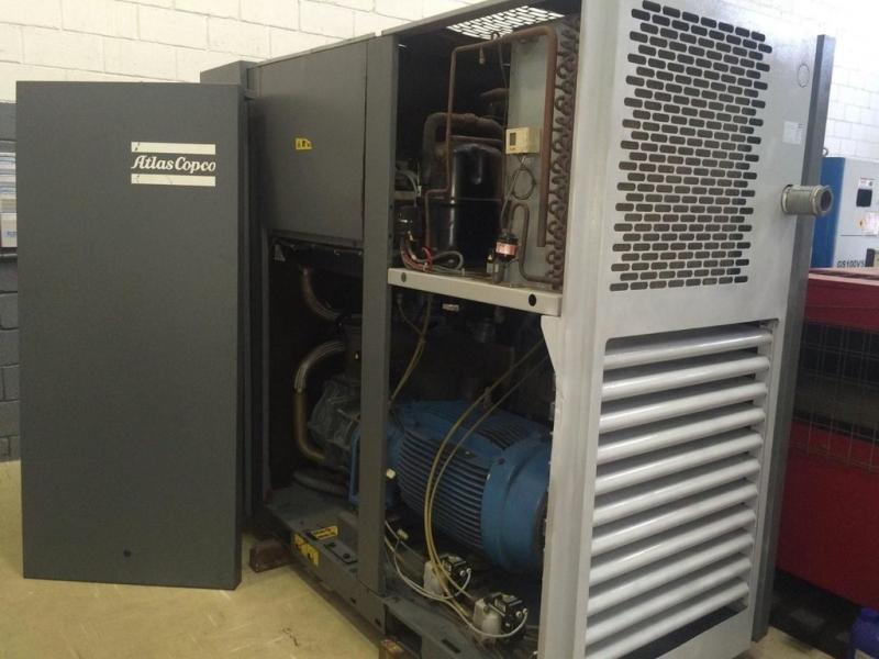Compressor de Parafuso Atlas Copco Preço Extrema - Compressor Rotativo de Parafuso