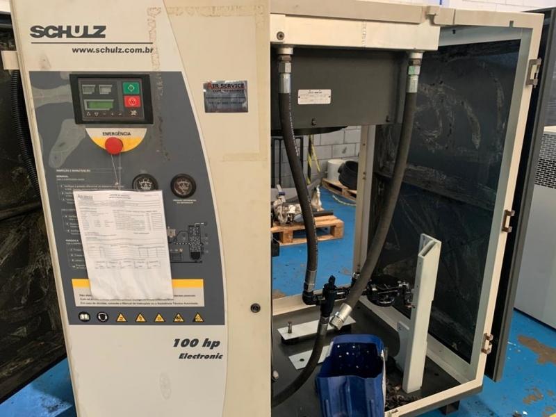 Compressor do Ar Valor Itapeva - Compressor de Ar Schulz Parafuso