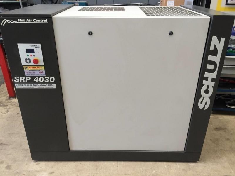 Compressor do Ar Extrema - Compressor de Ar Schulz Parafuso