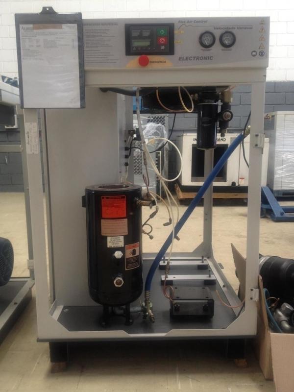 Compressor Industrial Parafuso Melhor Preço Americana - Compressor de Ar Industrial