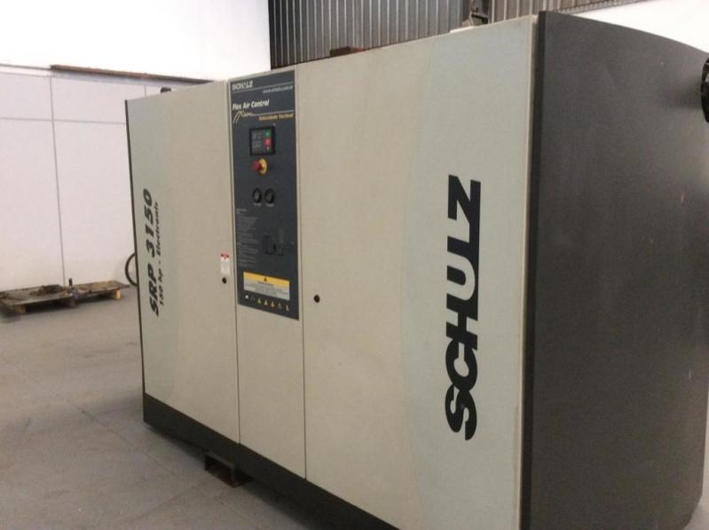 Compressor Industrial Parafuso Holambra - Compressor Industrial