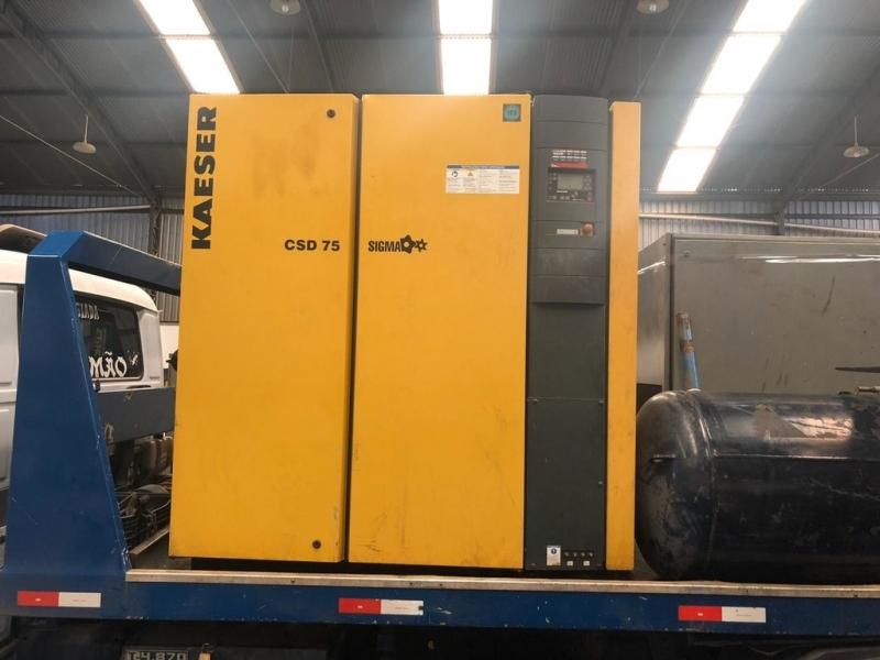 Compressor Parafuso Preço Campinas - Compressor Parafuso Refrigeração