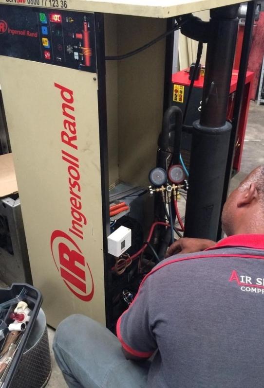 Compressor Parafuso Refrigeração Preço Sumaré - Compressor Rotativo de Parafuso