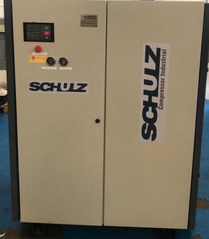 Compressor Parafuso Schulz Preço Ibitinga - Compressor a Parafuso