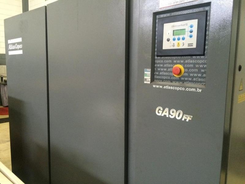Compressores a Parafuso Campo Grande - Compressor Parafuso Refrigeração