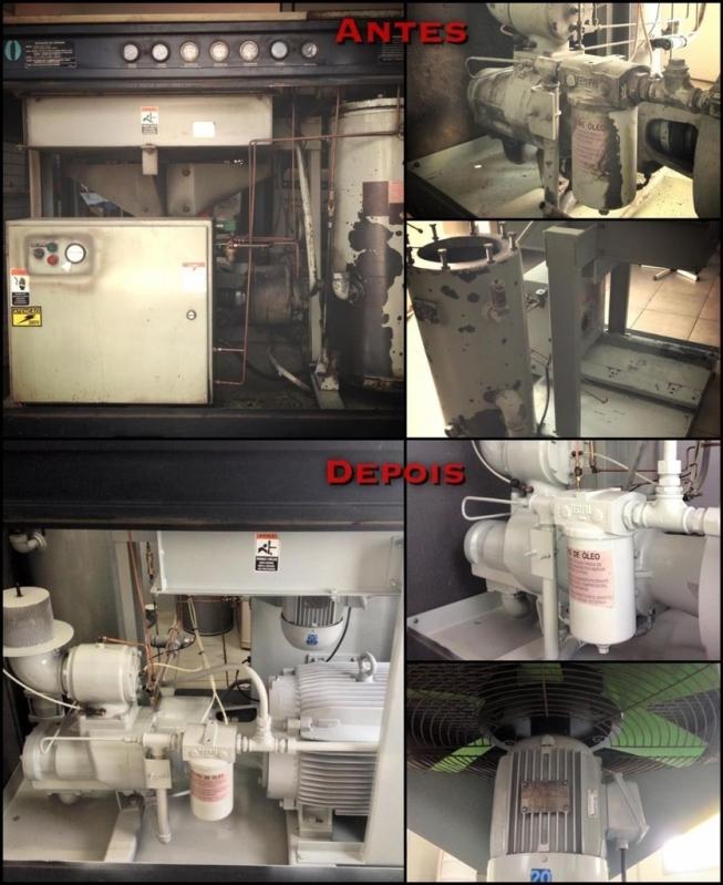 Empresa para Manutenção Compressor de Ar Direto Laranjal Paulista - Manutenção em Compressor de Ar