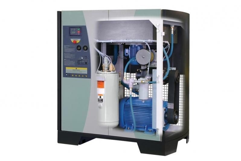 Locação Compressor de Parafuso Duplo Caieiras - Compressor Rotativo de Parafuso