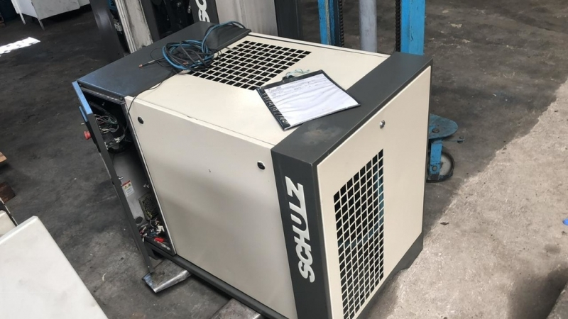Locação Compressor Parafuso 15hp Ibitinga - Compressor Rotativo de Parafuso