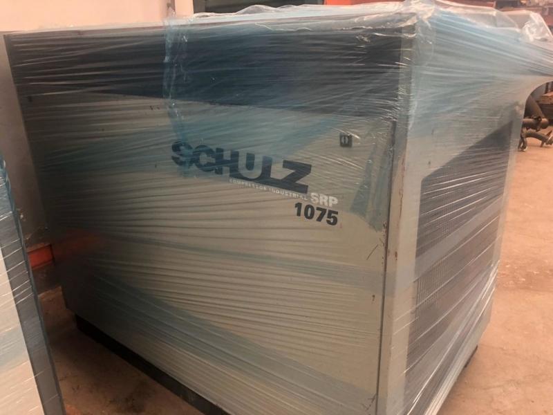 Locação Compressor Parafuso Schulz Ribeirão Preto - Compressor a Parafuso