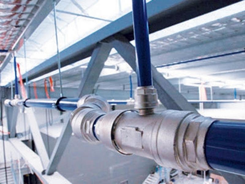 Rede de Ar Comprimido Circuito Aberto Conchal - Rede de Distribuição de Ar Comprimido