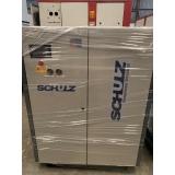 compressor de ar de parafuso valor Paulínia