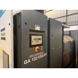 compressor de ar industrial parafuso melhor preço Itapeva