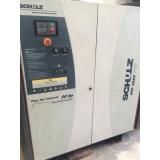 compressor de ar industrial schulz Campo Grande