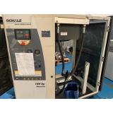 compressor de ar parafuso usado schulz Poços de Caldas