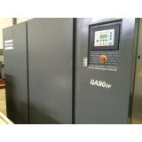 compressor parafuso refrigeração Vinhedo