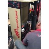 compressor parafuso refrigeração