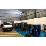 manutenção em compressor de ar