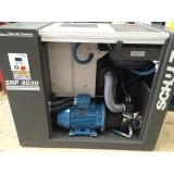 quanto custa compressor ar parafuso Valinhos
