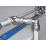 rede de ar comprimido em aluminio Conchal