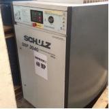 venda de compressor de ar schulz usado Engenheiro Coelho